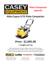 sales promotions casey jcb sales service parts rental il