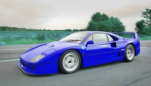 blue f40 f40 photos and of best cars simplyeighties com