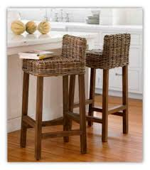 wicker kitchen furniture furniture gallant asian bar stools for comfortable seating