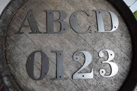 metal letters 4 1 2 tall metal letters and numbers rustic letters metal