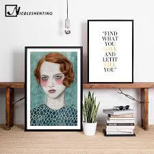 online shop nordic decoration motivational quote poster