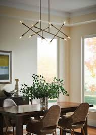 light fixture dining room dinning modern linear chandelier linear chandelier dining room
