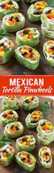 mexican tortilla pinwheels dinner at the zoo