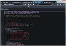 change themes on mozilla how to re enable the dark developer theme in firefox 40 and newer