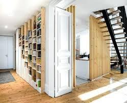 cloison cuisine salon cloison separation bois cloison separation en bois clair des