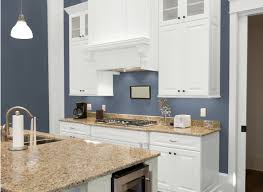 Blue Kitchens by Kitchen Grey Blue Colors Paint Uotsh