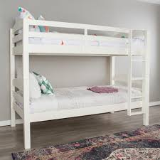 reece twin over full slat bunk bed with storage ladder and by