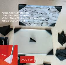 glass angles protectors for laminated tempered glass u2013 green tape