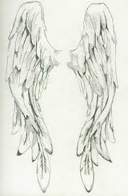 angel wings tattoo on arm real photo pictures images and