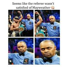 Pacquiao Mayweather Memes - pro pacquiao referee mayweather vs pacquiao know your meme