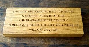 engraved wooden wall plaques makemesomethingspecial