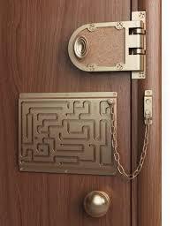 la catena da porta pi禮 sicura tecnocino