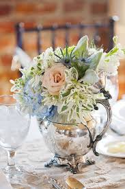 Silver Vases Wedding Centerpieces Cwnterpices In Silver Tea Pots Vintage Silver Teapot Filled With