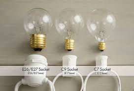 what is the difference between c7 and c9 lights guide to globe lights globe string lights terminology