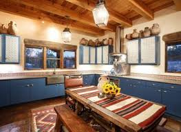 Santa Fe Style Interior Design by 31 Modern And Traditional Spanish Style Kitchen Designs Norma Budden