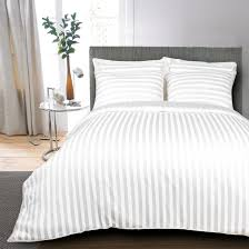 egyptian cotton 400 tc duvet cover striped white egyptian