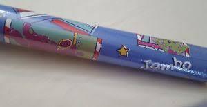 hello wrapping paper vtg barney purple dinosaur hello wrapping paper gift wrap