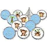 baby shower monkey 1 x it s a boy monkey baby shower balloons decorations