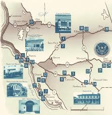 ventura county map the associated historical societies and museums of ventura county