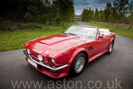 pink aston martin 1988 v8 vantage volante x pack for sale from aston workshop