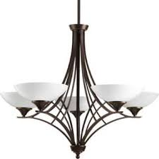 Progress Lighting 5 Light Chandelier Porcelain Ceiling Lights For Less Overstock Com