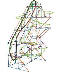 buy k u0027nex typhoon frenzy roller coaster building set at argos co