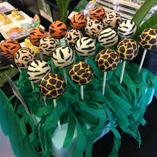 animal train safari dessert table cake pops cookies u0026 mini
