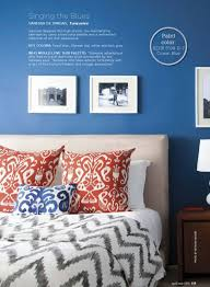 chinese red and blue bedroom interiors by color idolza