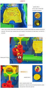 new boys girls toys children educational toy maze ball game
