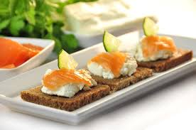 rye bread canapes festive rye bread canapes physio fitness