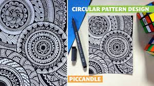 zen of design patterns doodle circular pattern design mandala youtube