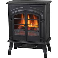 duraflame carleton electric stove with heater black walmart com