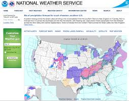 New England On The Map Nws Forecast Maps My Blog