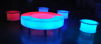 led cubes its all glow table centres for any occasion