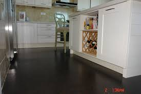 Cork Flooring In Kitchen by A Dark Floor Black Beach Cork Flooring Look Of Black Granite