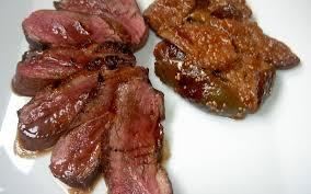 cuisiner un filet de canard recette magret de canard aux figues économique et facile cuisine