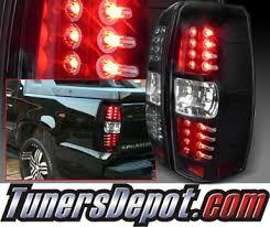 spec d tail lights spec d led tail lights black 07 14 chevy avalanche lt ava07jmled tm
