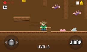 featured game cowboy gold platformer corona labs