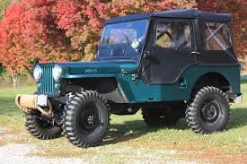 About Willys Vehicles Cj 3a