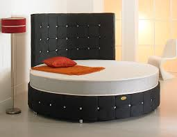 designer circular bed available in various colours in either