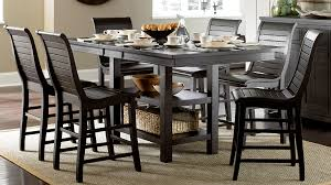 Black Round Dining Room Table Dining Chairs Compact Distressed Black Dining Table And Chairs