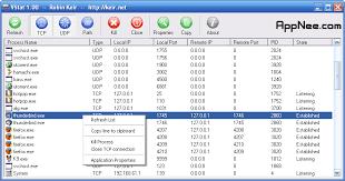 Windows Routing Table Vstat U2013 Small Gui Tool For Command Line Netstat Appnee Freeware