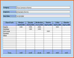 Hourly Timesheet Template Excel 7 Excel Payroll Survey Template Words