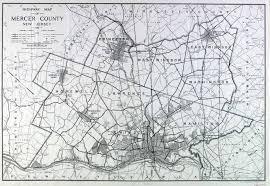 Hamilton Nj Map Historical Mercer County New Jersey Maps