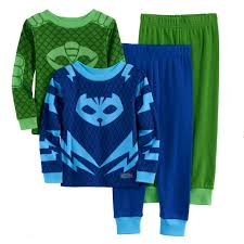 boy pj masks catboy u0026 gekko 4 pc pajama
