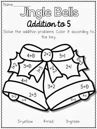15 images christmas worksheets coloring addition