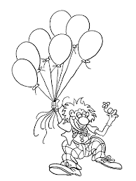 coloring now blog archive clown coloring pages