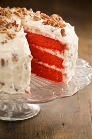 scrumpdillyicious red velvet cake with cream cheese frosting