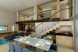 scintillating contemporary living dining room design images best