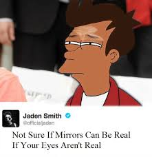 Fry Not Sure Meme - jaden smith is as not sure as a fry meme